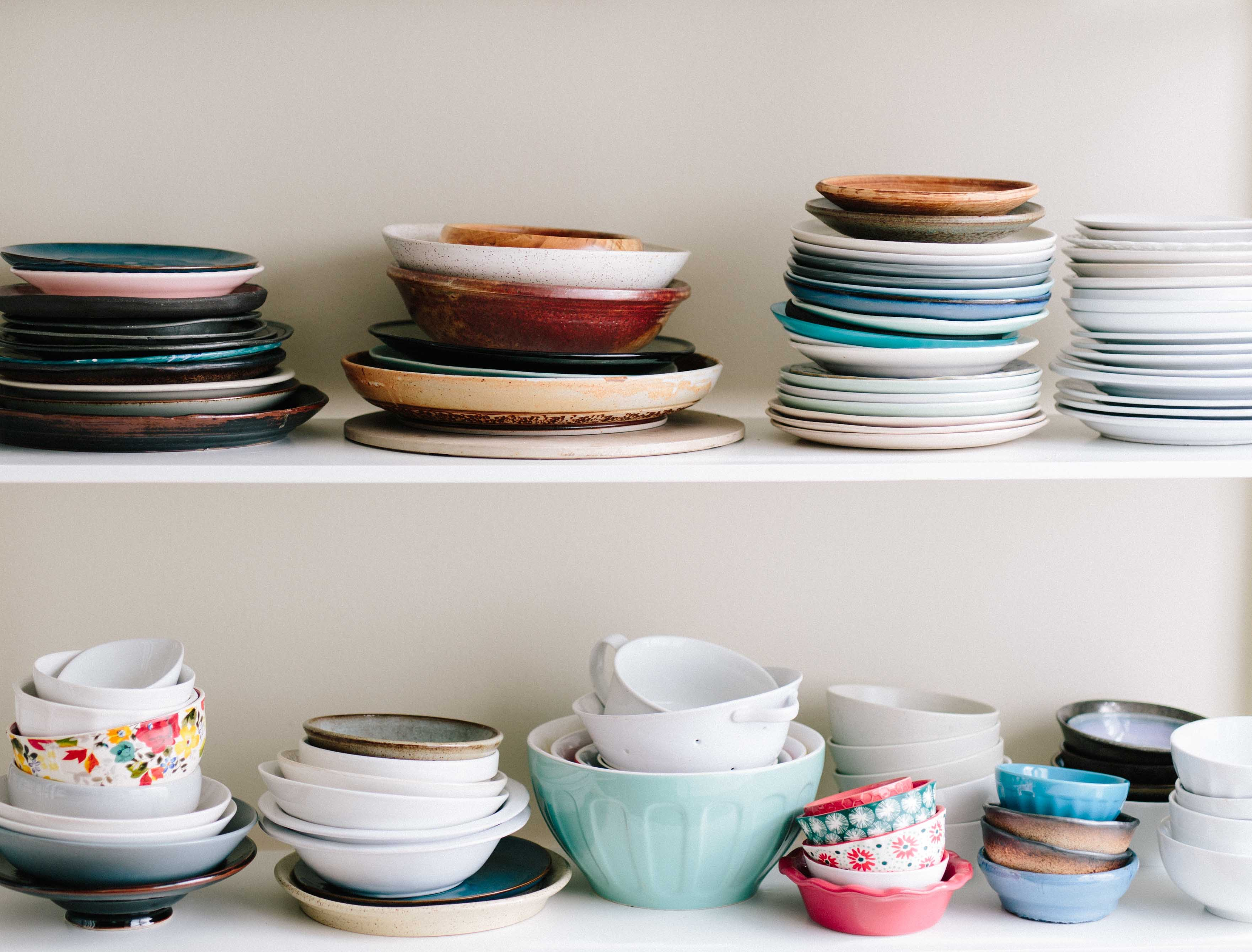cleaning dishes lowers anxiety
