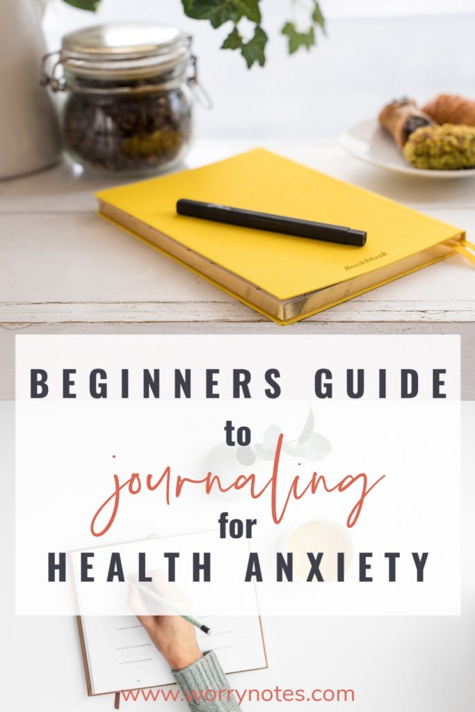 beginners guide to journaling for health anxiety