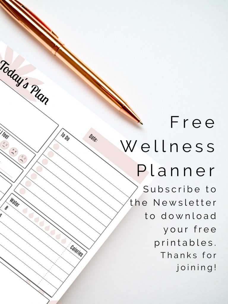 Free health and wellness planner from WorryNote