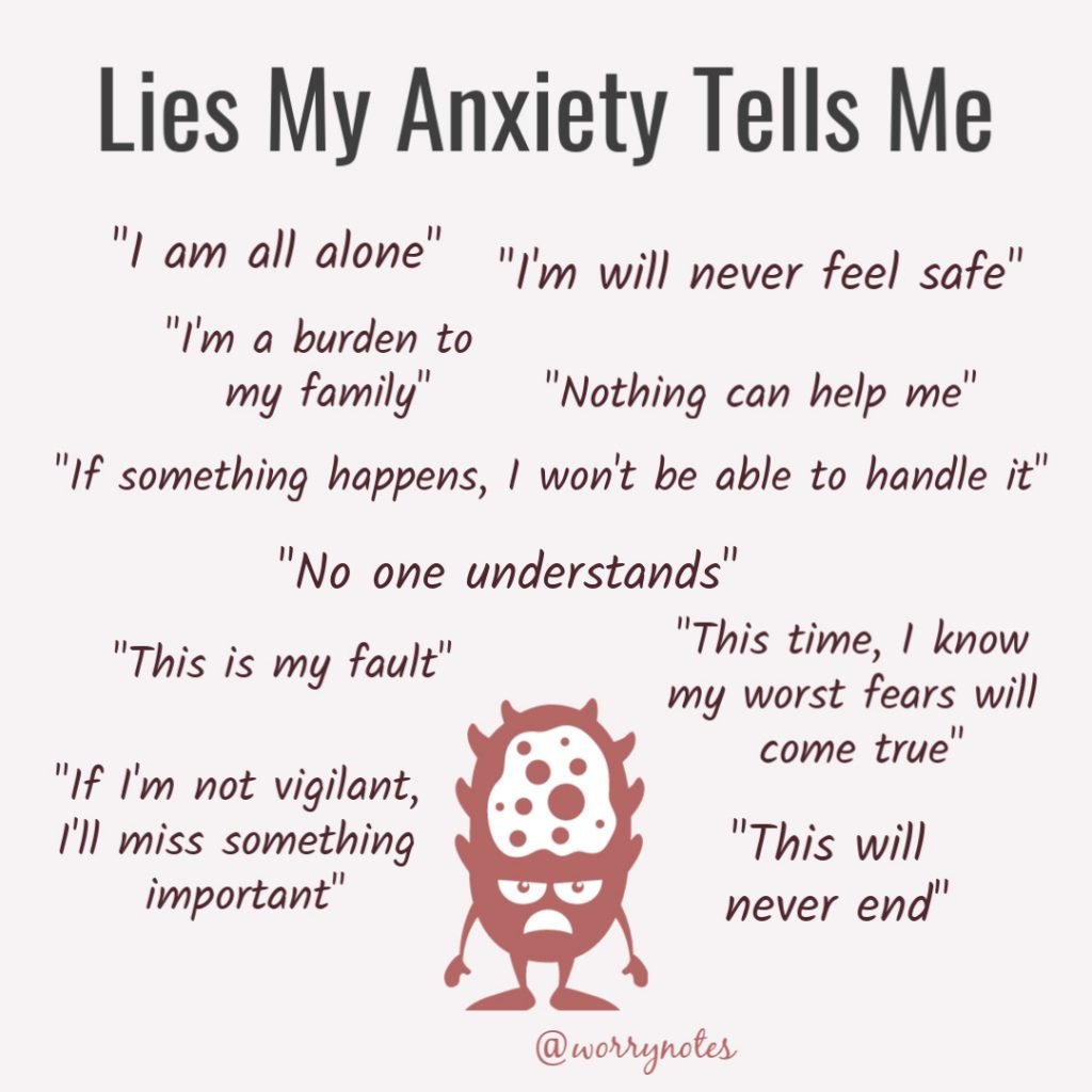 Lies my health anxiety tell me