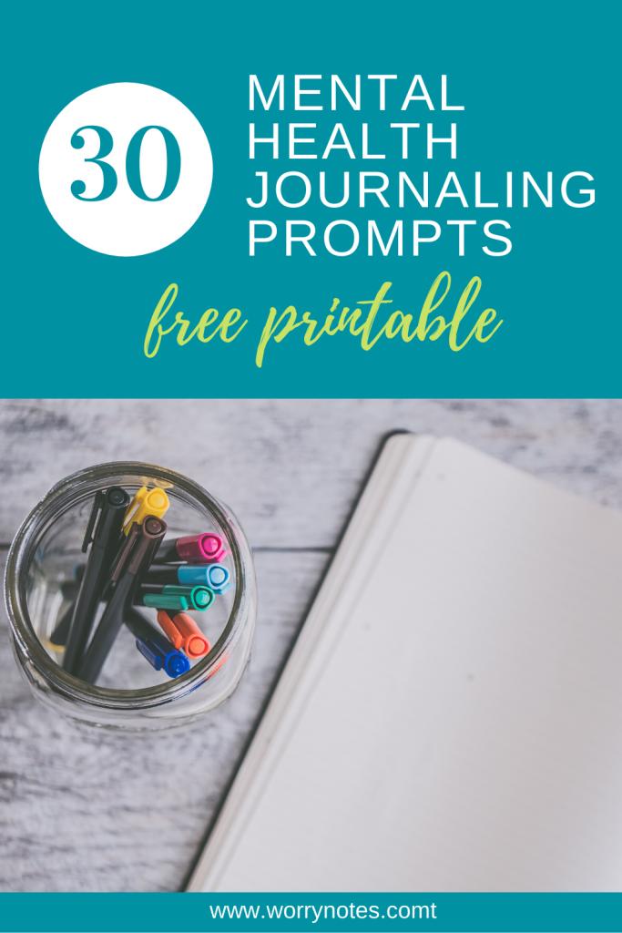30 Mental Health Journaling Prompts