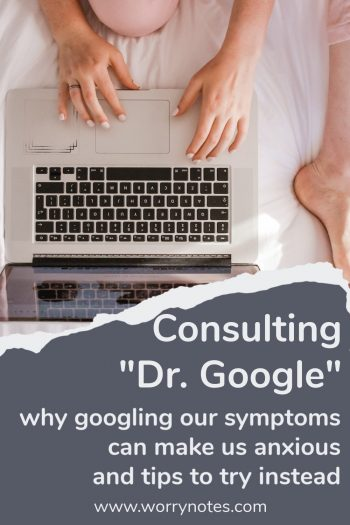how to stop googling symptoms