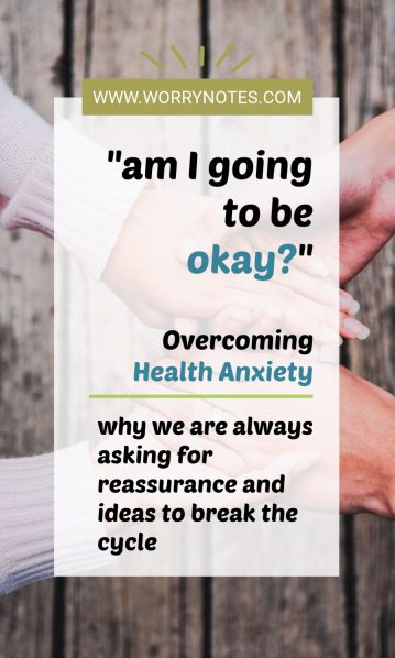 how to stop seeking reassurance for anxiety