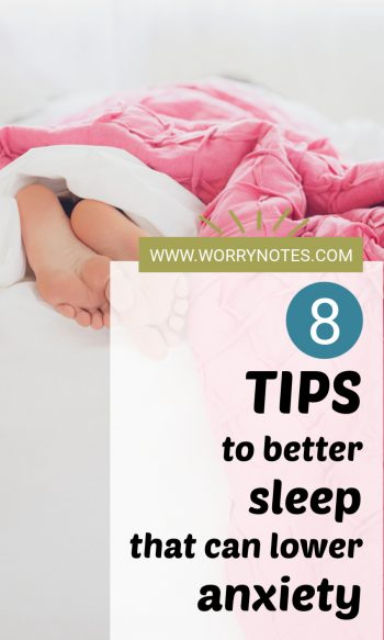 8 tips to better sleep that can lower anxiety
